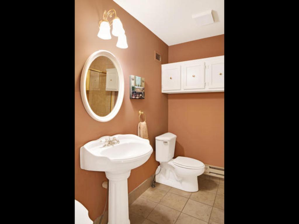 Upstairs 3/4 bathroom
