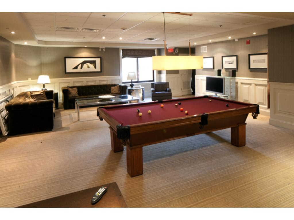 Party room is open for all to use or can be reserved for special events