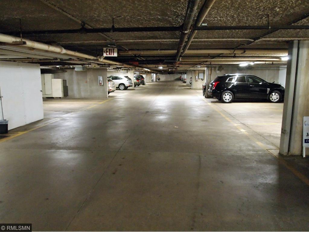 Underground heated Garage #20 Building 1101