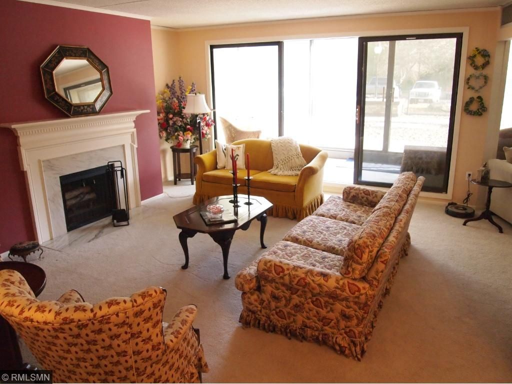 Living Room and Patio Doors to Porch