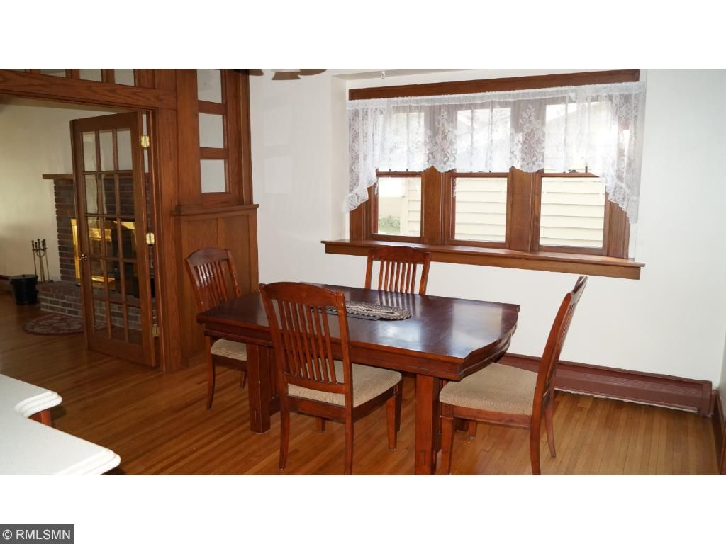 This is a classic older home with a formal dining room just off the kitchen.
