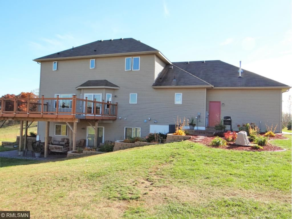 Home is finished on the lower level as well with a walk out that overlooks a oversized patio with a private back yard. Enjoy the  oversized Deck.