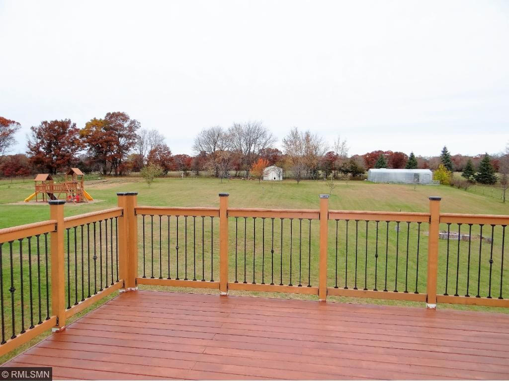 Enjoy the 20x30 Deck looking out to the beautiful backyard.