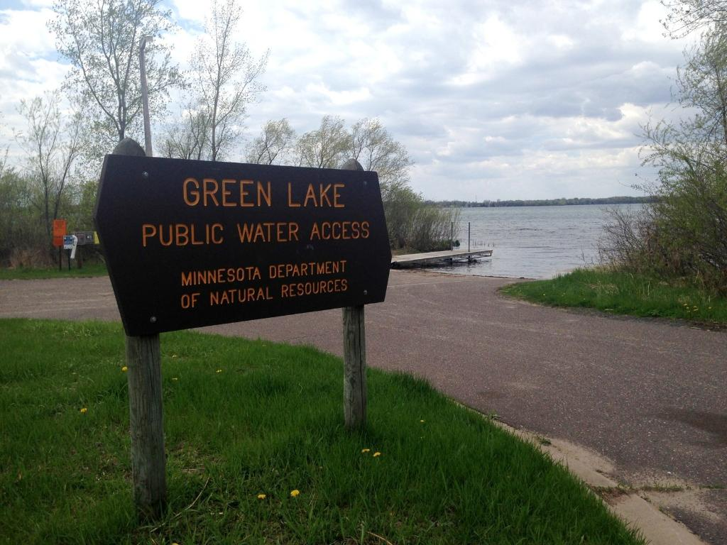 Less than 2 miles to the Green Lake public access. 1800 acre fully recreational lake known for it's walleye and northern fishing.