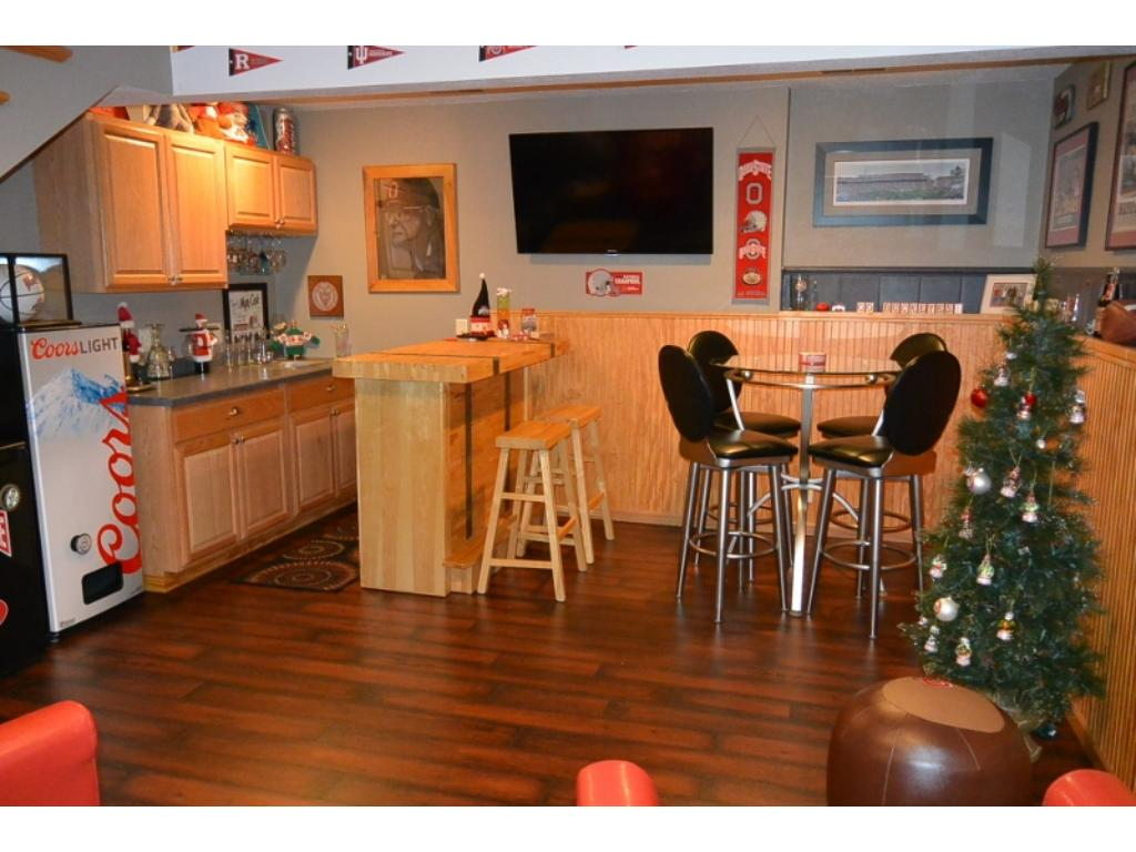 Bar in lower level rec area