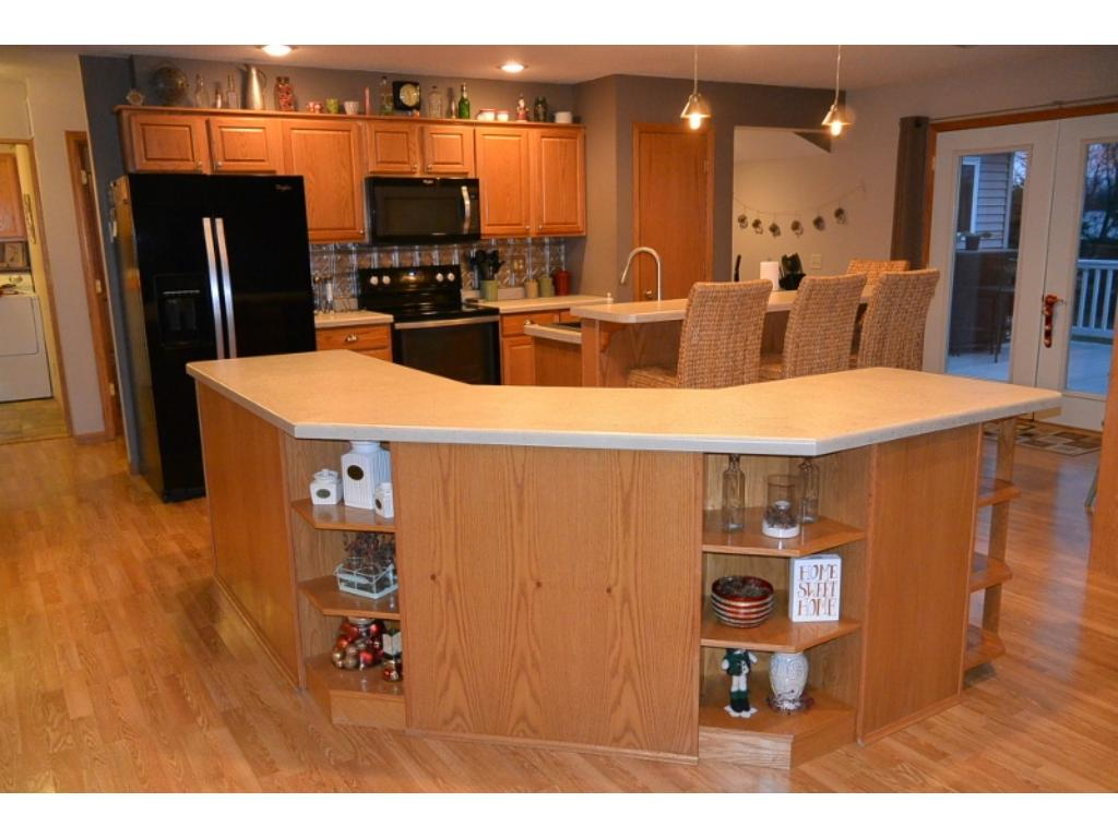 Open concept kitchen w/plenty of counter space