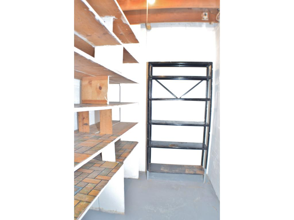 More storage in the lower level to fit all your needs!