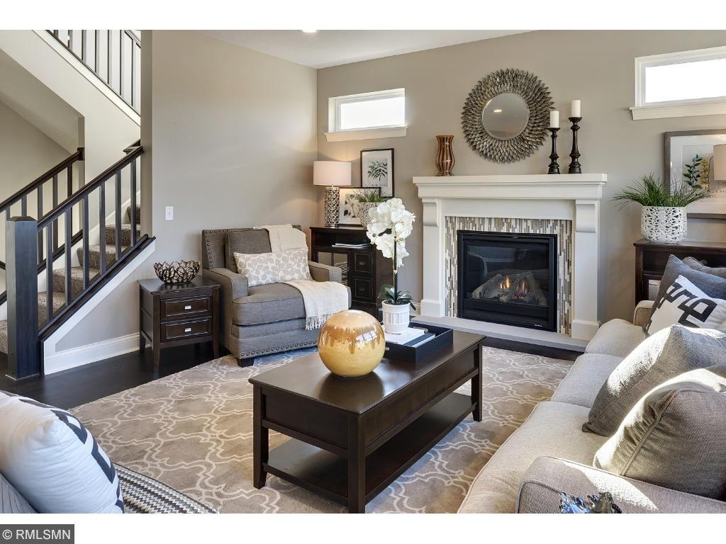 Beautiful fireplace included!Photo of like home.