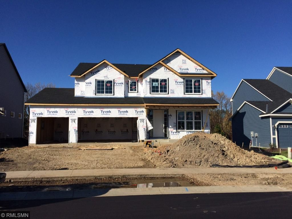 Construction is underway for January occupancy!  Lot backs to mature tree line!