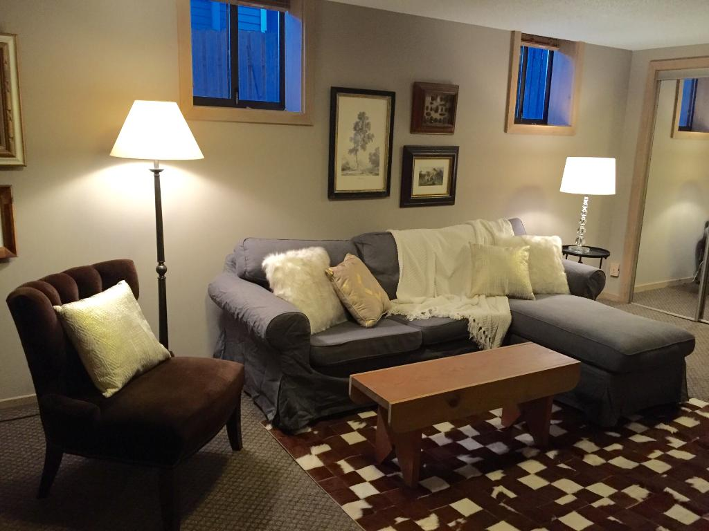 The basement family room could be an ideal home theater, kids getaway, or rec room. There is also space to convert 2 storage rooms into a 4th bedroom and 4th bathroom. One storage room was formerly a sauna and could be converted back if needed.