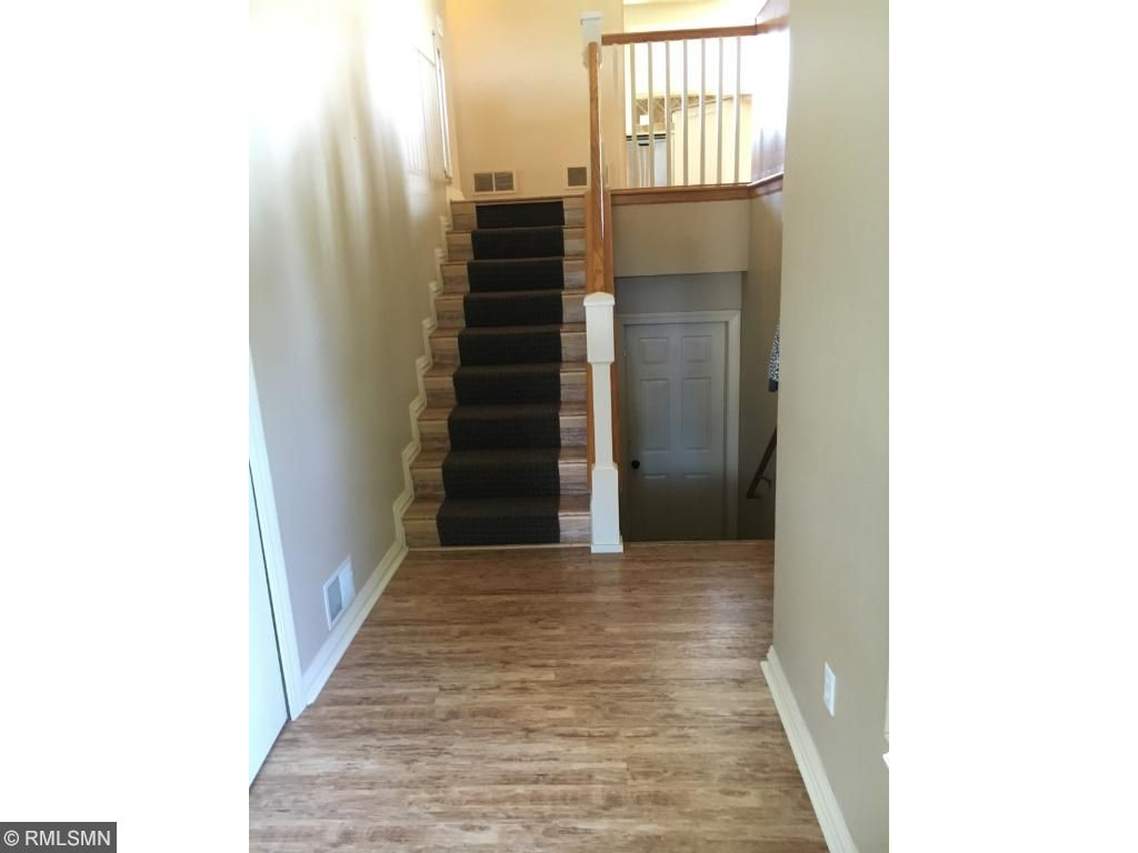 A large foyer welcomes you home...