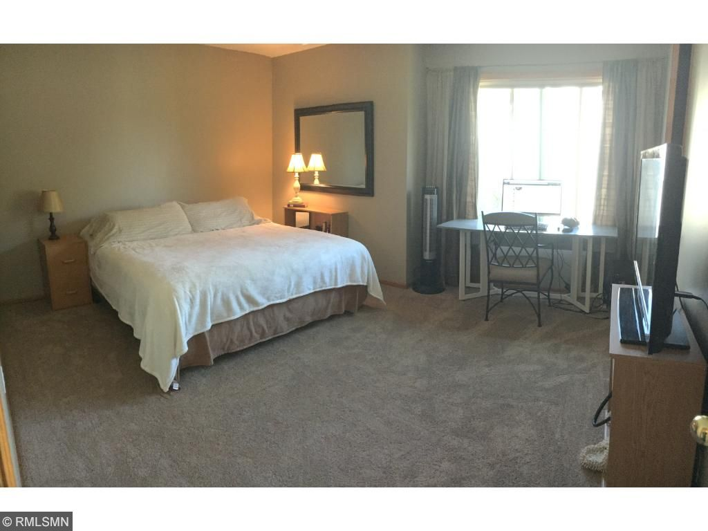 Master bedroom is extra large, with a private 3/4 master bath, HUGE master closet and a coveted laundry chute!
