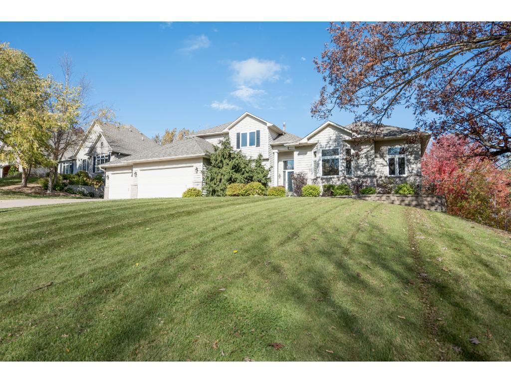 Gorgeous executive home set on a wooded walkout lot.  Enjoy main level living with a prime location offering easy commutes and fabulous neighborhood.