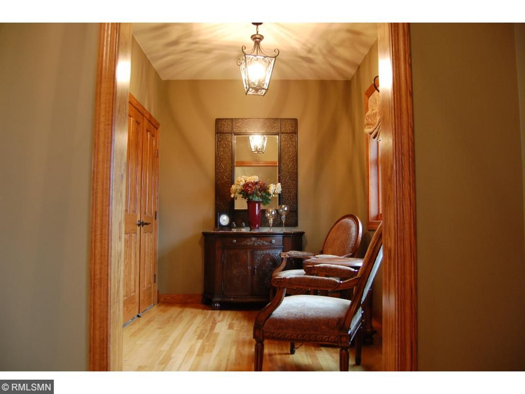 The foyer closet has plenty of storage for family and guests, allowing the foyer to stay nice and tidy!