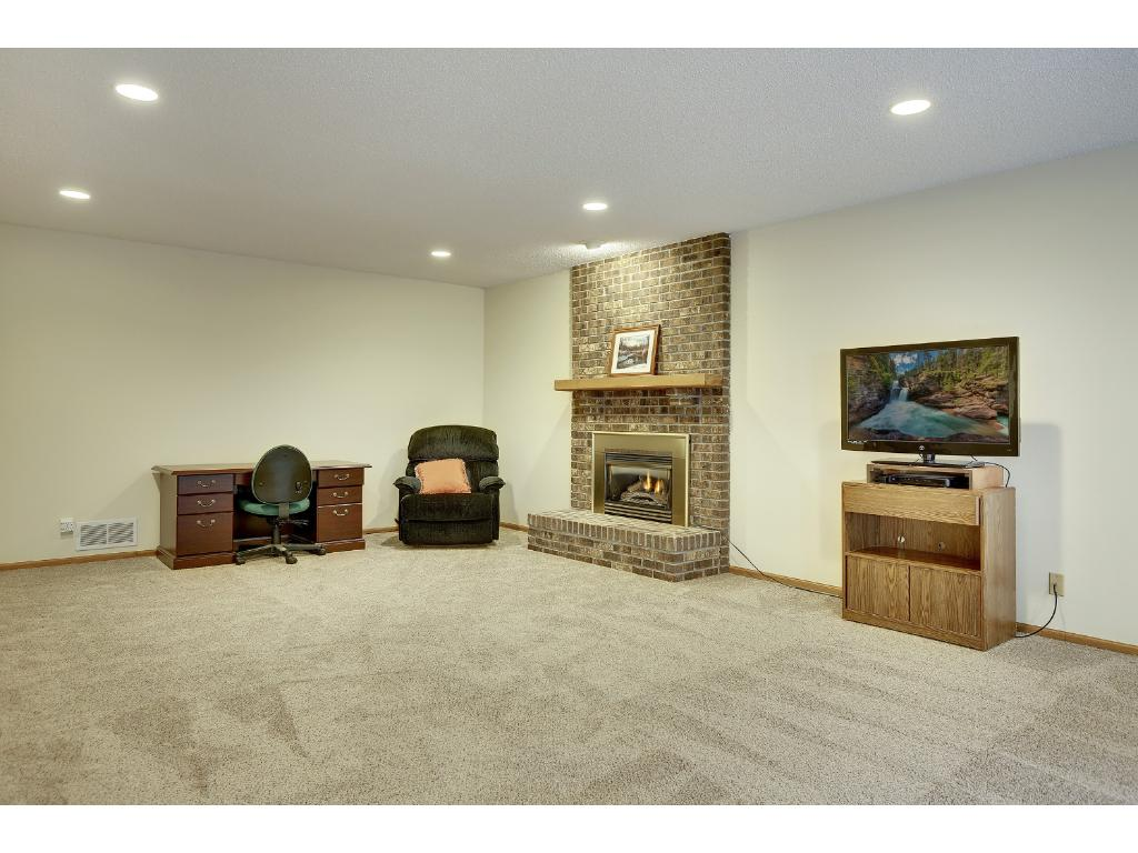 Gas fireplace, new carpet & paint throughout the lower level