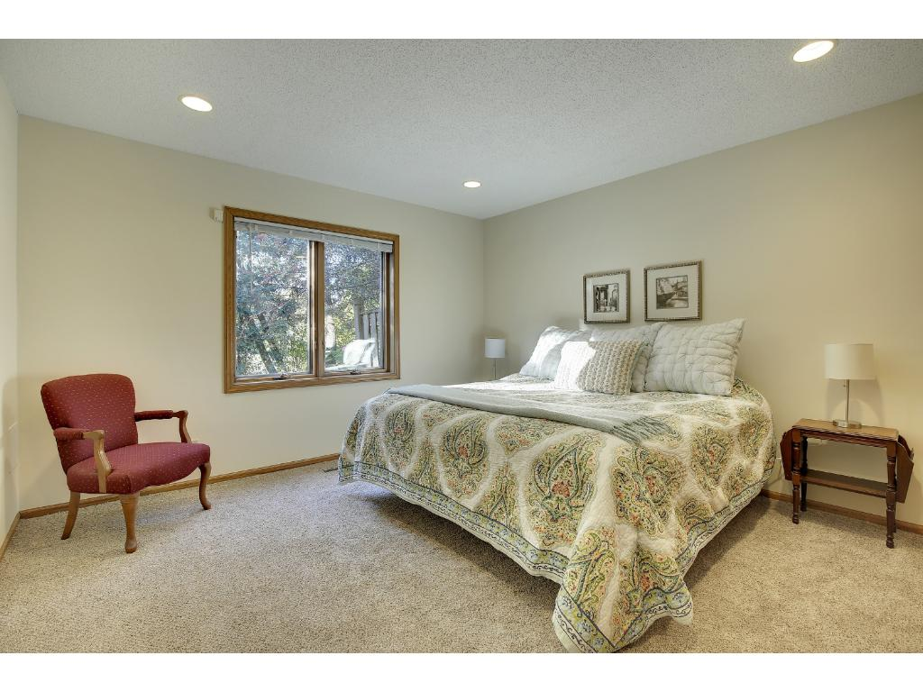 Bedroom #3 in the lower level is great for guests