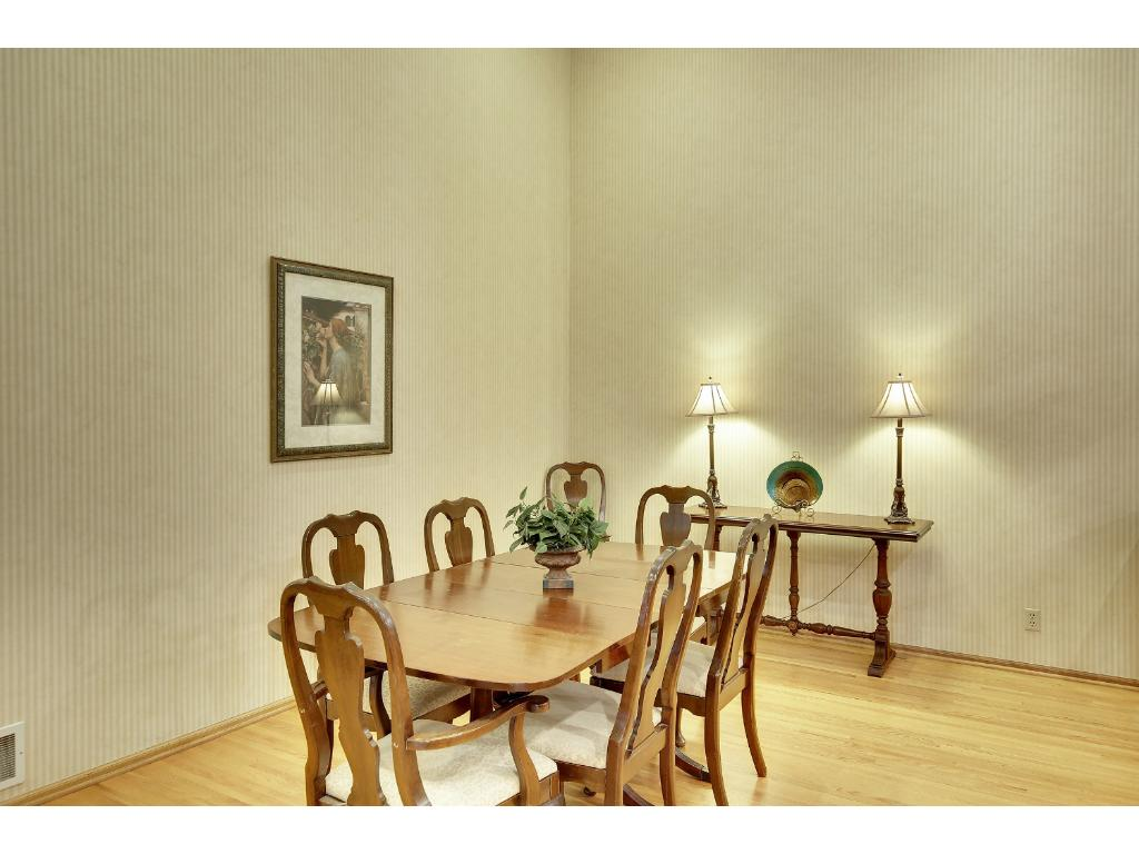 Dining room is perfect for family gatherings