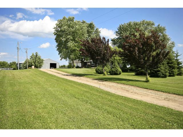 The Home is graciously enclosed with large mature shade trees!