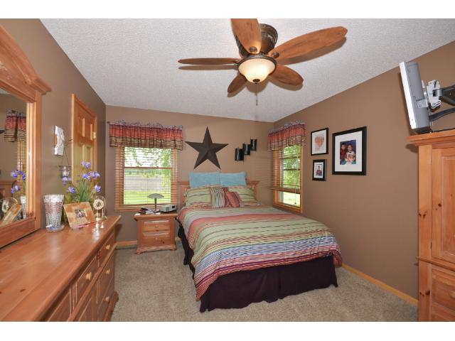 Master Suite has a private 3/4 Bathroom and walk-in closet!