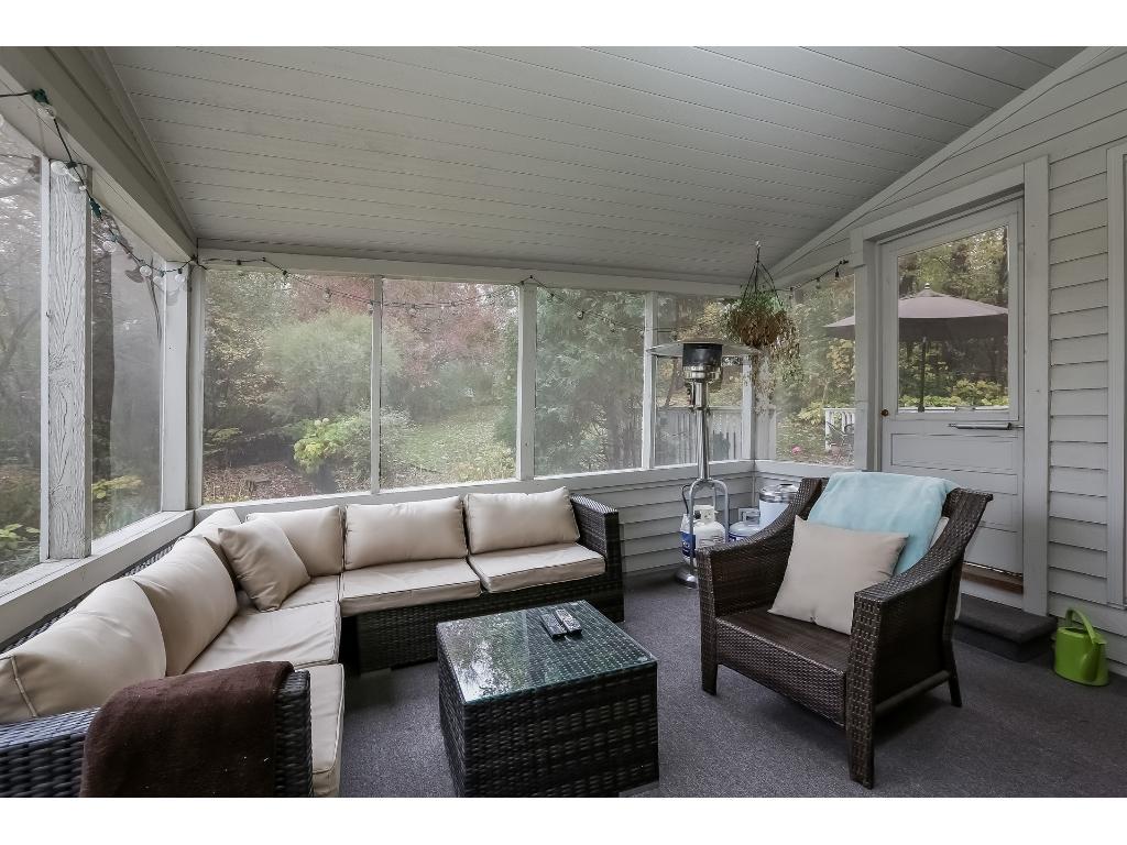 Three Season Porch.