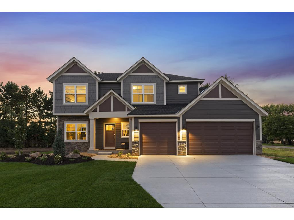"""Hanson Builders newest 2-story Identity Series Design called the """"Edgewood"""". Home is showcased in the Parade of Homes Fall 2016."""