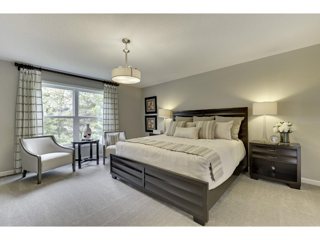 Large Master Bedroom with Private Bath and Walk-in master closet