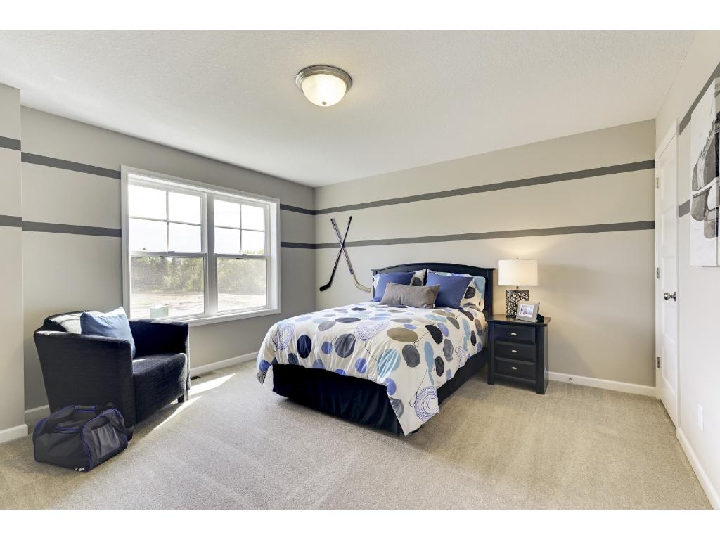 A total of 4 Bedrooms upstairs