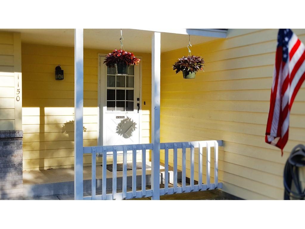 "This porch defines ""Welcome home!"""