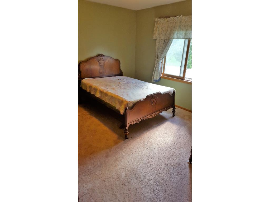 Second bedroom upstairs is big enough for any sized kid!