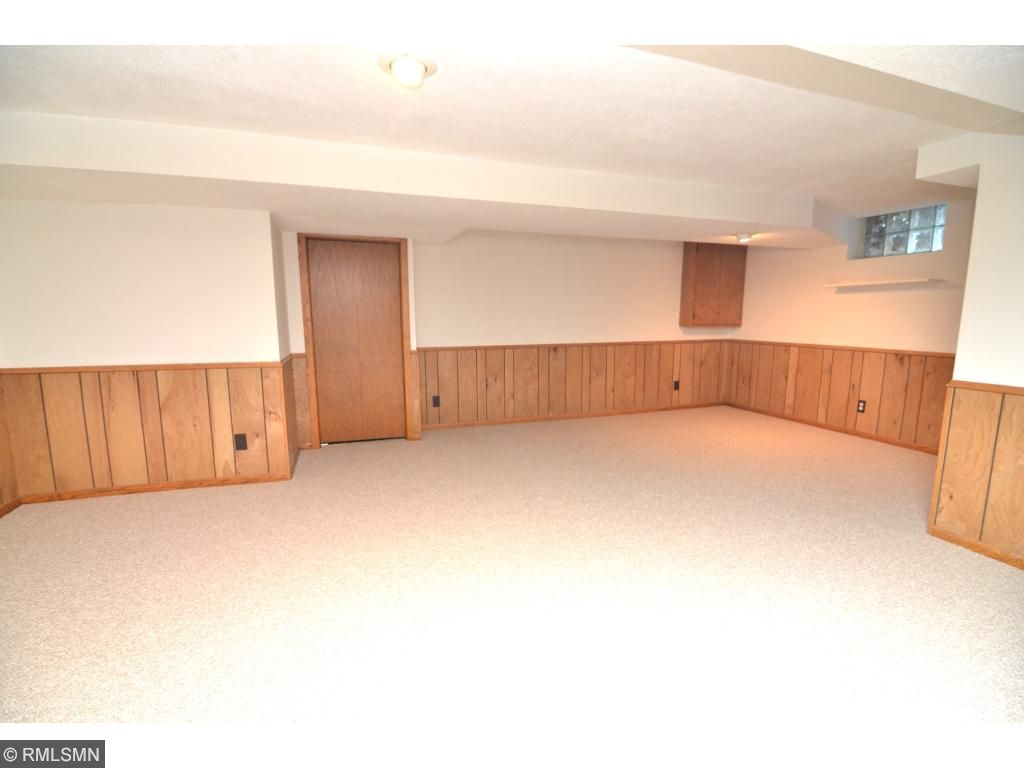 Double lower-level family room