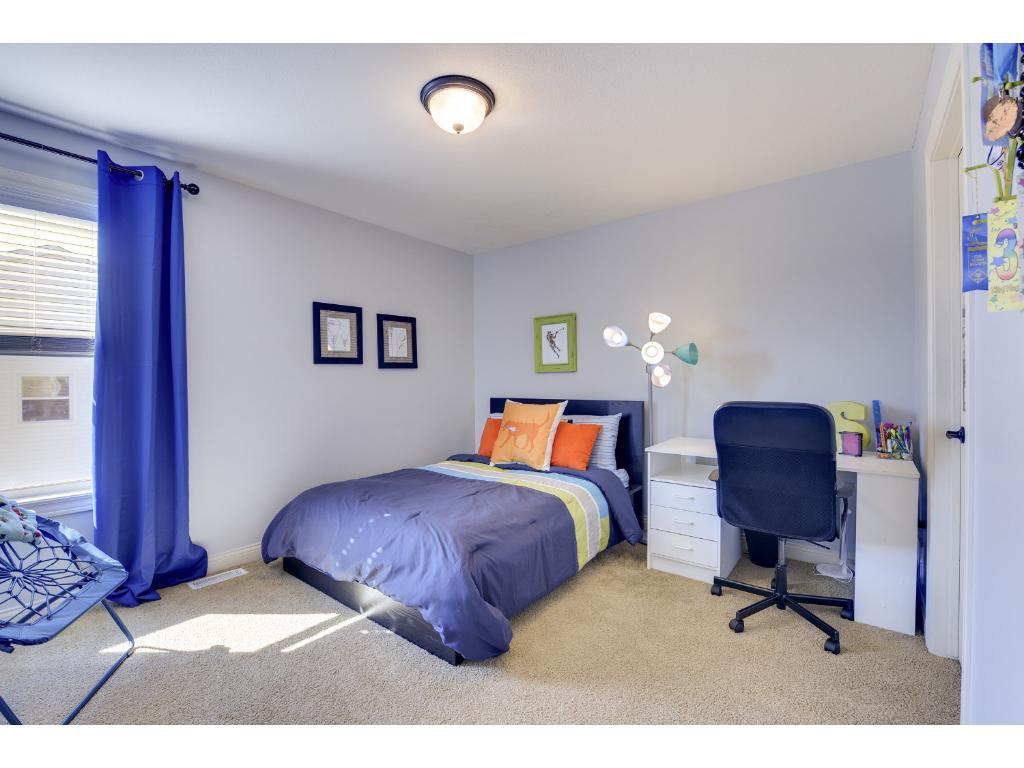 Third bedroom on upper level.