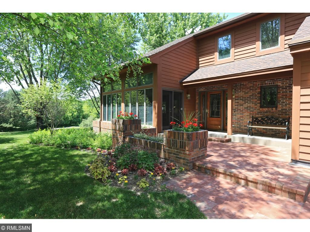 Welcome home to 6.7 acres of privacy!! Home has new brick front patio, landscaping and new roof.