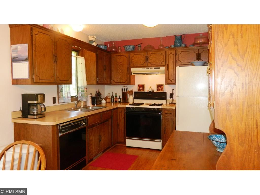 Very nice sized and efficient kitchen is located just off the dining room.