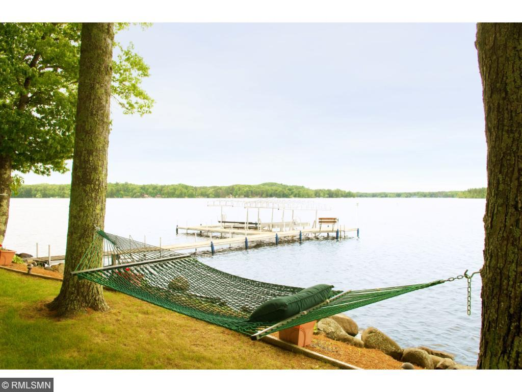 A picturesque way to enjoy your lazy summer afternoons. 11683 E. Point Rd., Lake Nebagamon, WI