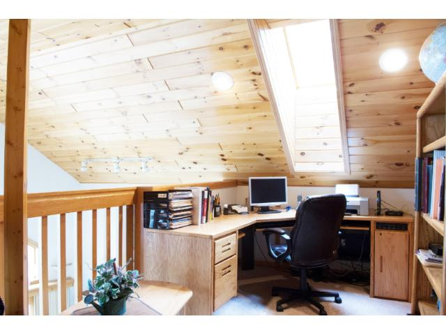 Upstairs you'll find a loft perfect for your home office or reading nook.