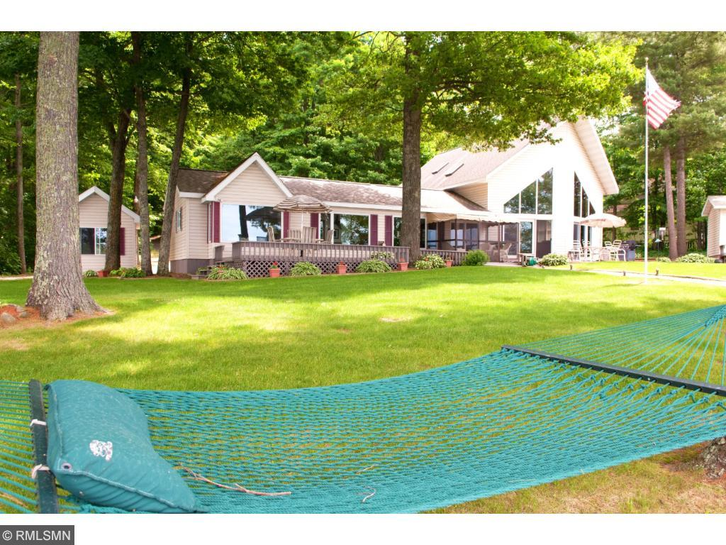 The large lot is ideal for a game of bocce or practicing your golf game on the green. 11683 E. Point Rd., Lake Nebagamon, WI