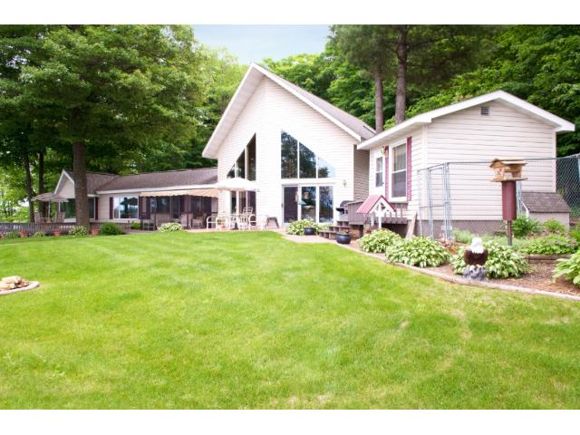 Great landscaping with numerous perennials. 11683 E. Point Rd., Lake Nebagamon, WI