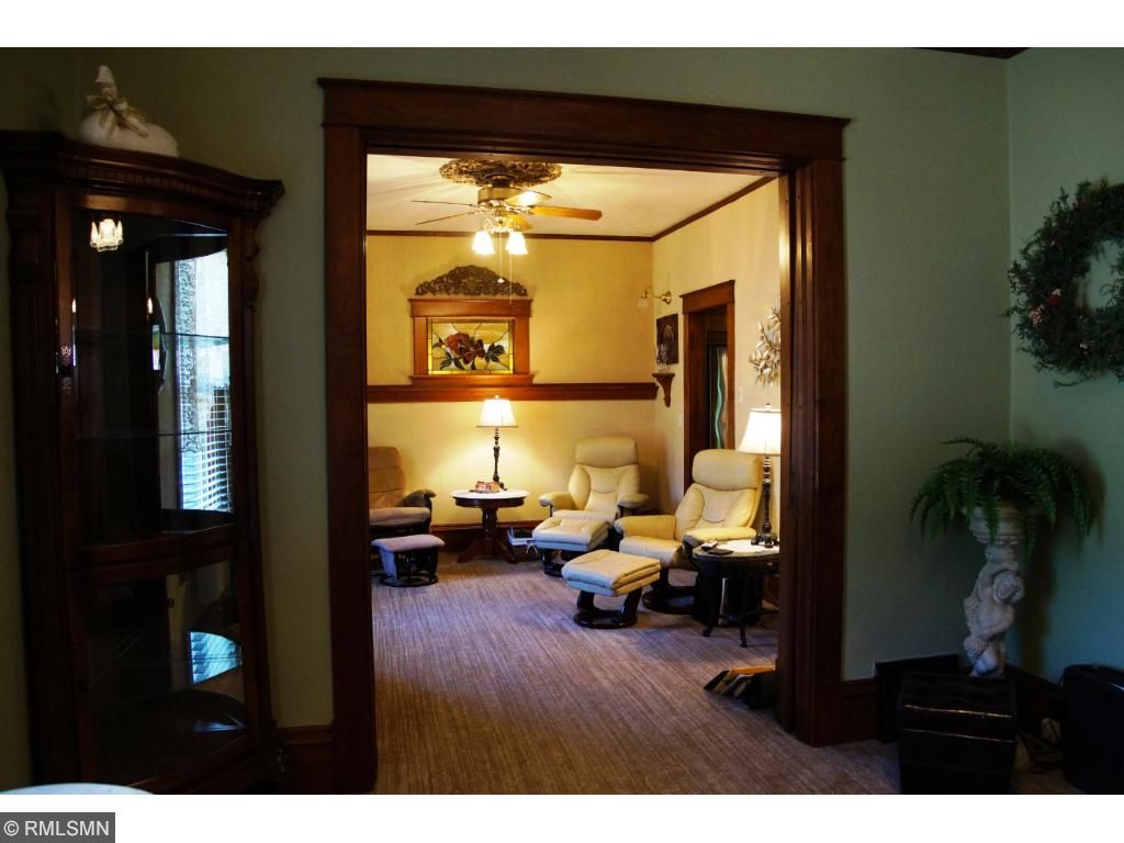 Quality doors between the living & family rooms too.