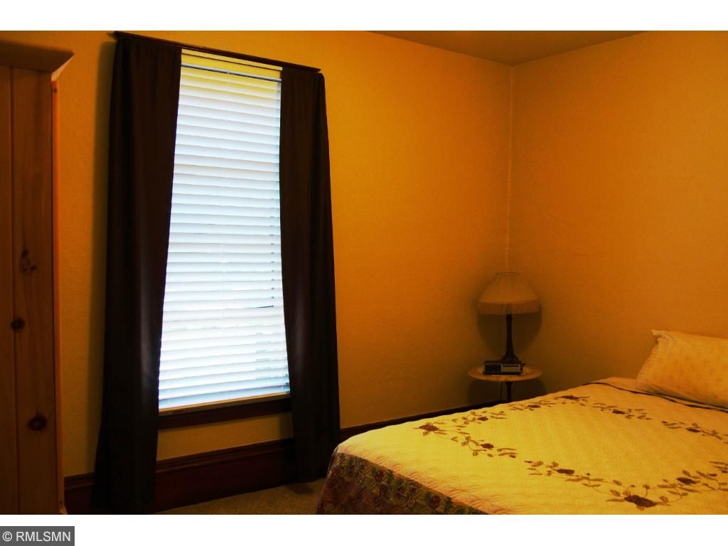 3rd same floor bedroom - no closet - leaving armoire.