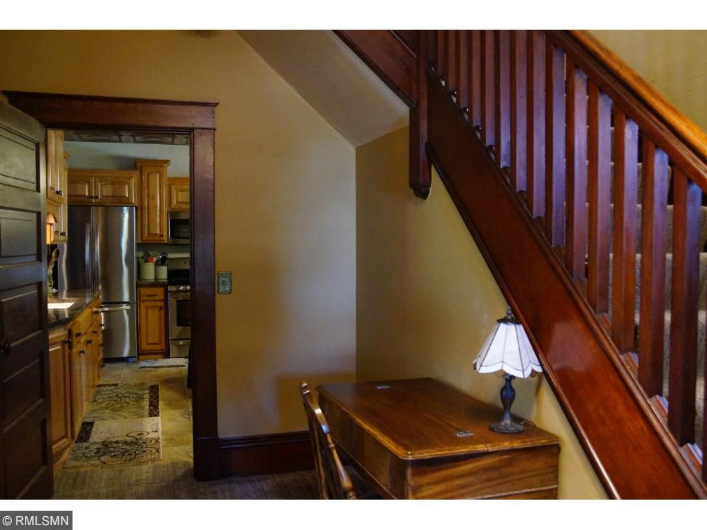 Welcoming foyer leads to the kitchen or family / living room