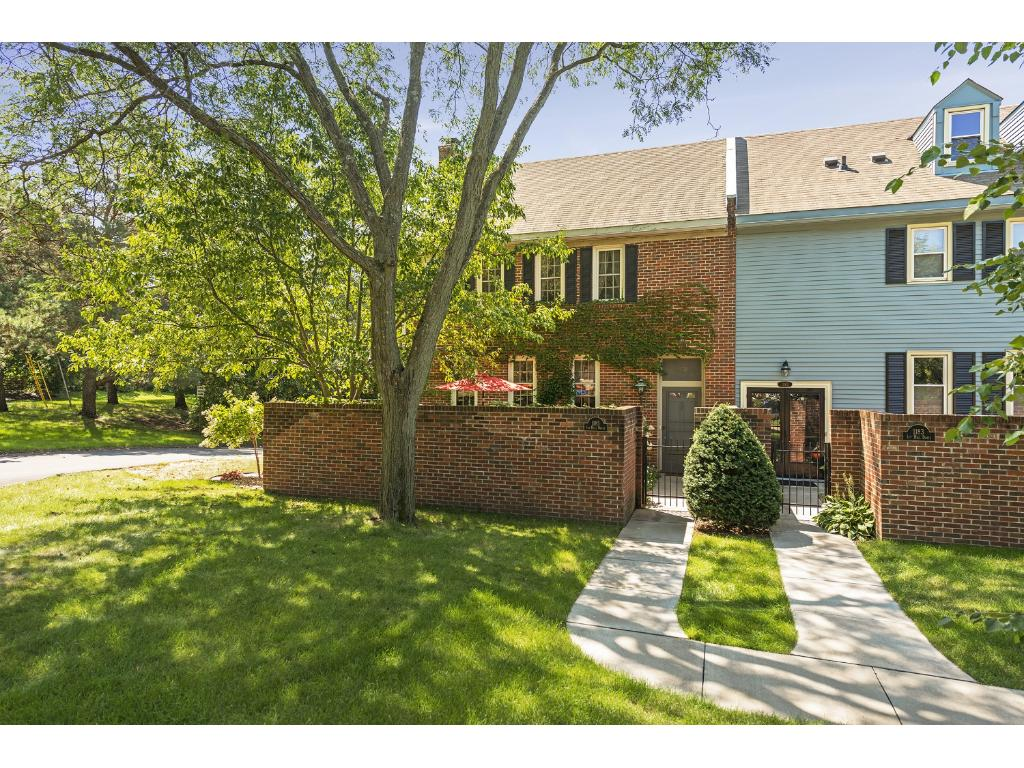 A quiet enclave of townhomes centrally located between downtown St. Paul and the airport