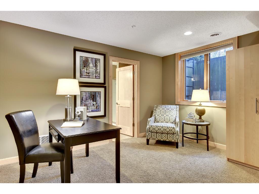 Lower level bedroom/office...