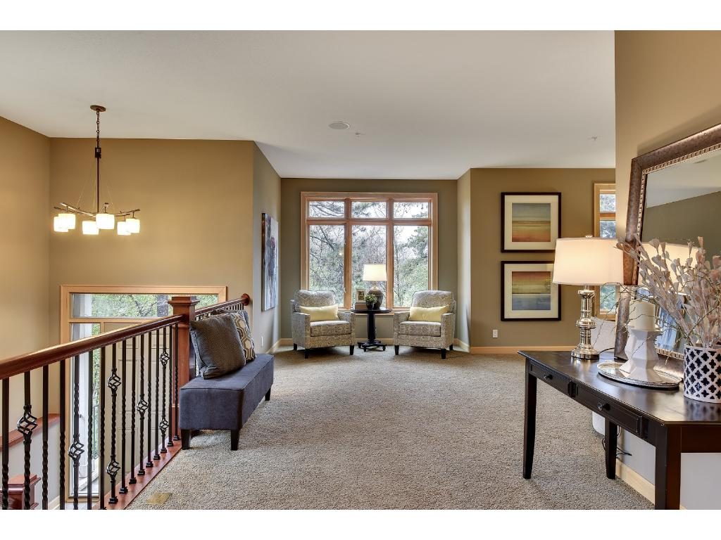 Gracious, warm and inviting interior spaces...