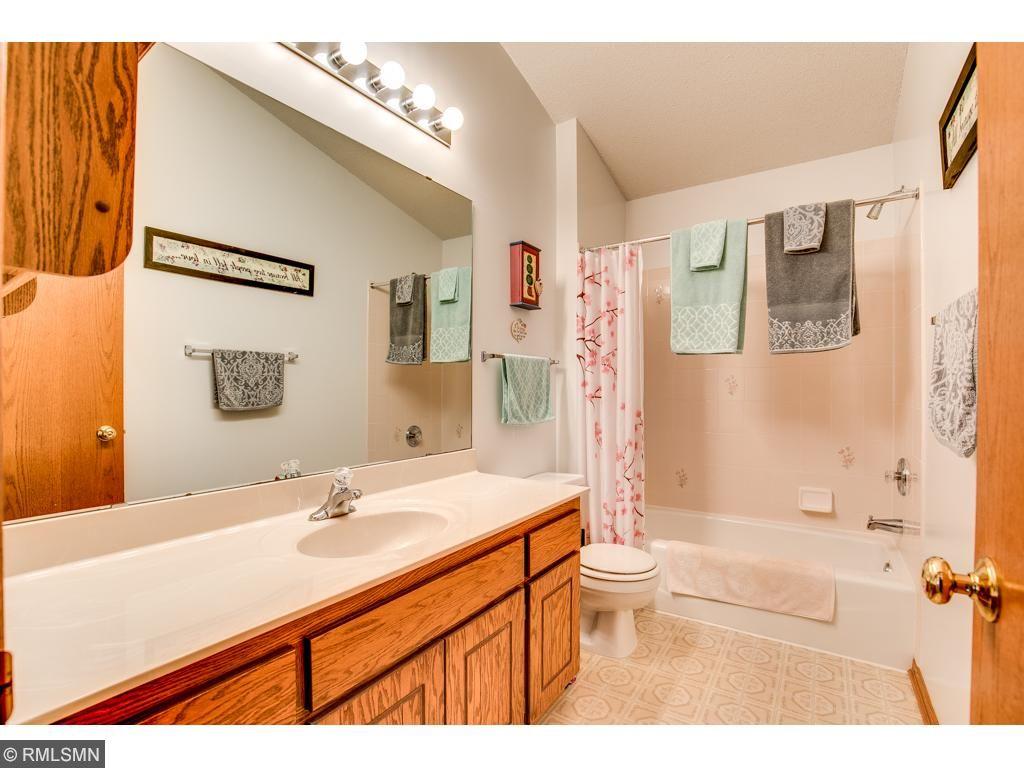 Main level full bathroom.