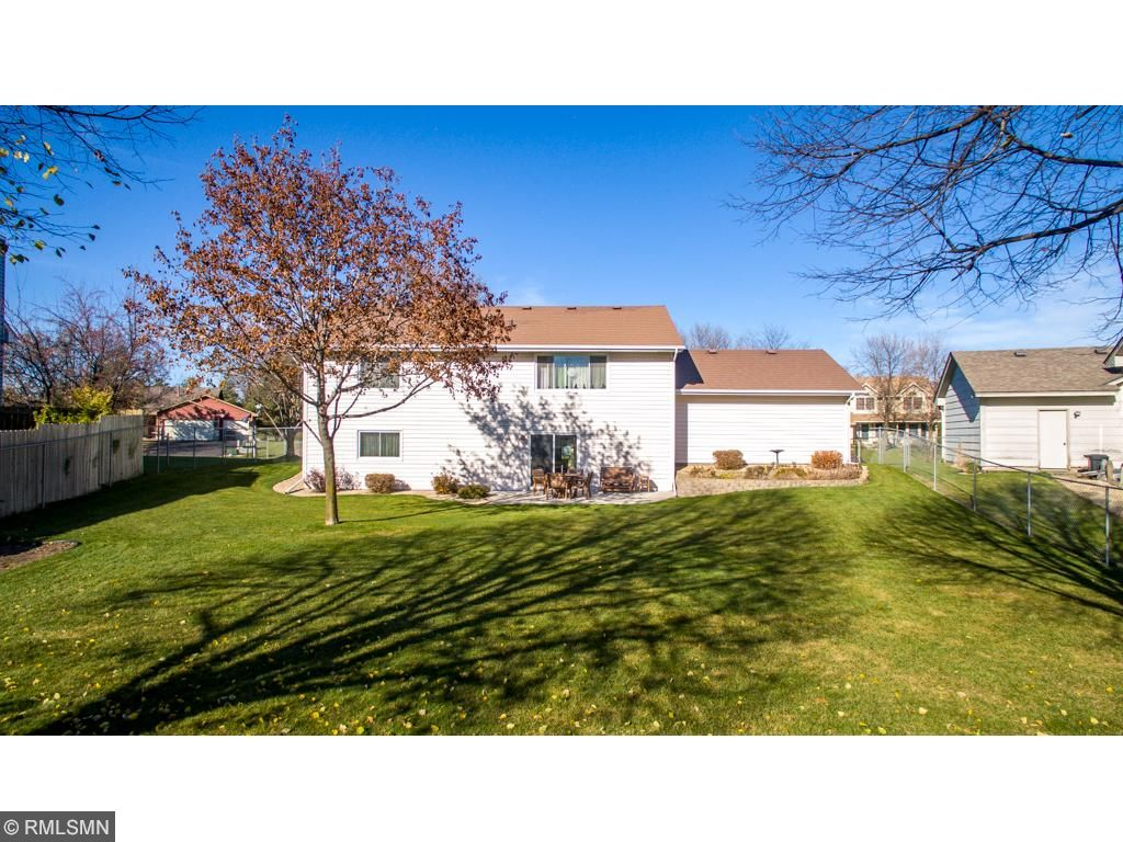 This home has a concrete patio and large, impeccably maintained, fully fenced backyard with underground irrigation. The exterior is completely maintenance free with a concrete drive, newer siding, windows and a 50 year steel roof.