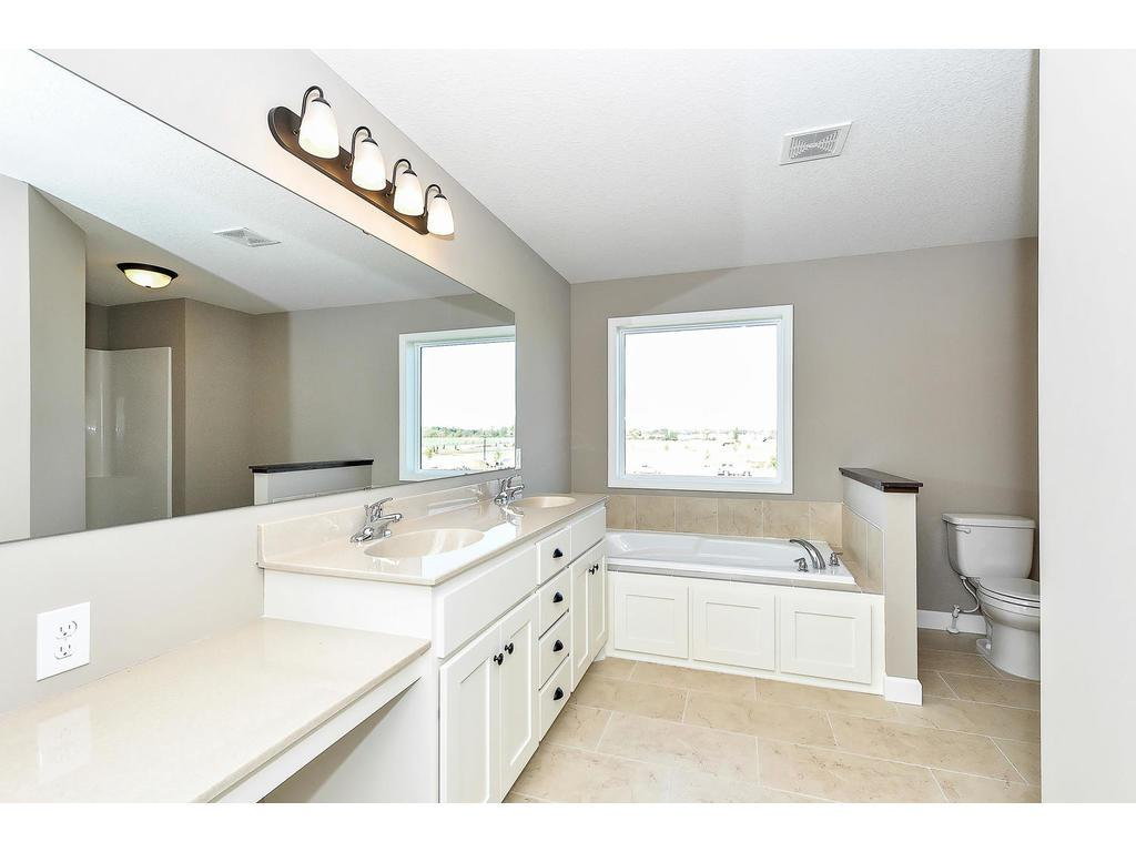 Private Master Bath with Make-up Counter