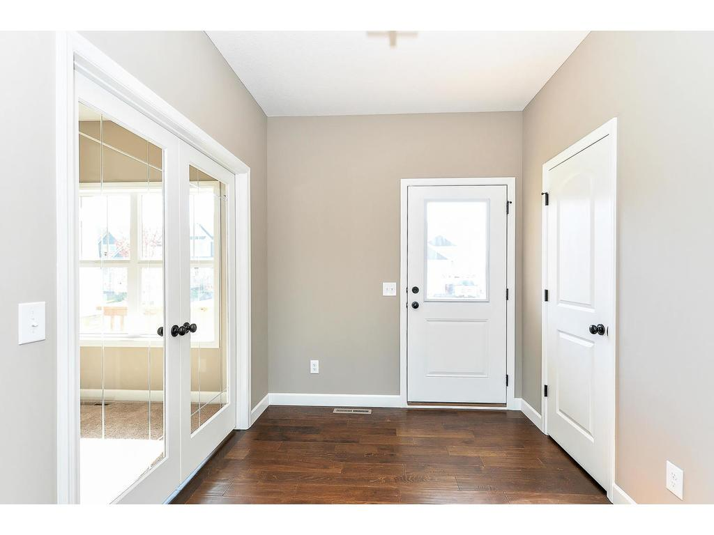 Beautiful French Doors in Foyer