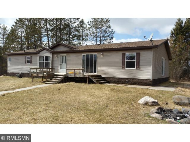 Triple Wide manufactured home, over 2100 square feet on one level. Open and spacious rooms. 4Bdrms & 2 full baths. Located on 10 acres with a heart shaped pond.