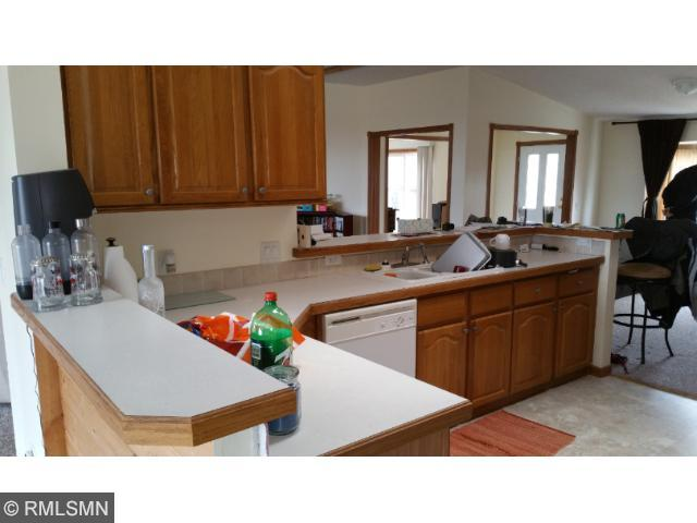 No shortness of counter space in this home.