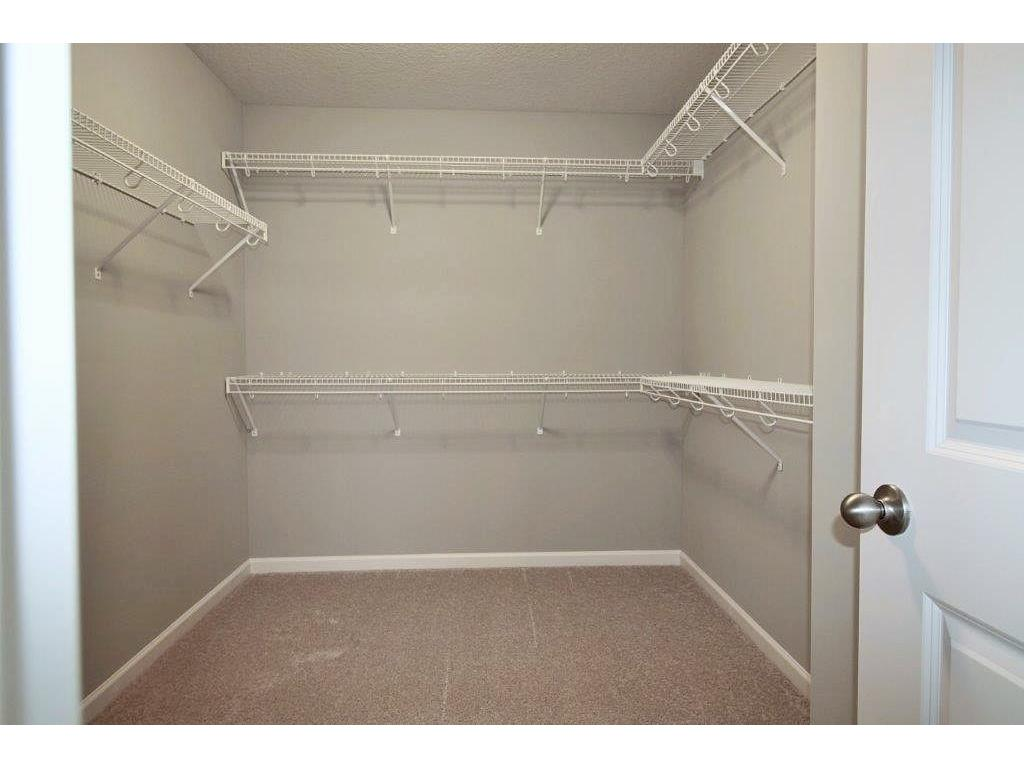 Looking for space? Owners Walk In Closet. Finally enough ample room to stay organized and to get ready for the day!